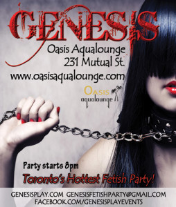 Genesis Fetish Party @ Oasis Aqualounge   Toronto   Ontario   Canada