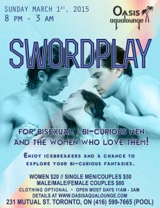 Swordplay-for bisexual/bi-curious men and the women who love them!