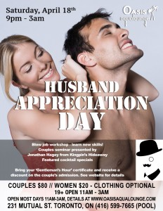 Husband Appreciation Day!