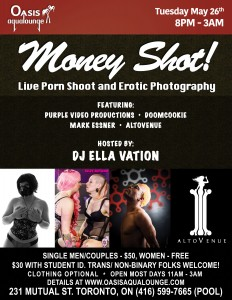 Money Shot! Live Porn and Erotic Photography