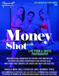 Money Shot: Industry Meet Up,  Live Cam Show & Porn Shoot