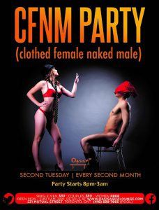 CFNM (Clothed Female Naked Male)