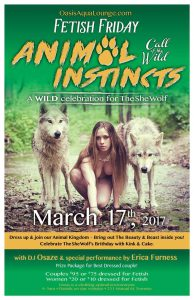 Fetish Friday: Animal Instincts-Call of The Wild