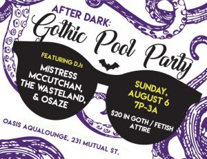 Oasis After Dark: Gothic Pool Party