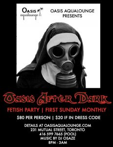 Oasis After Dark: Premiere Fetish Play Party & Suspension Hooks