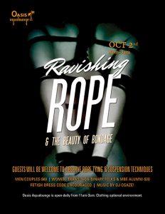 Ravishing Rope & The Beauty of Bondage
