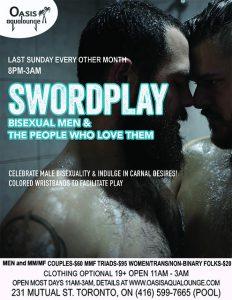 Swordplay-Live Porn Show, Performances & Pre-Halloween Party