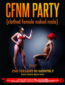 CFNM (Clothed Female Naked Male) + Clothing Swap & Sale
