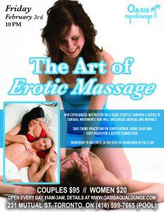Sex School Presents: The Art of Erotic Massage