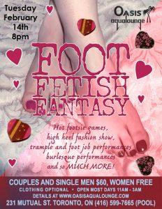 Valentines Foot Fetish Fantasy