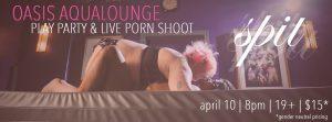 SPIT: Live Porn Shoot & Sensual Dom Workshop