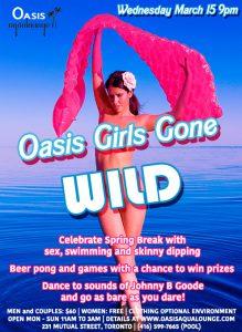Oasis Girls Gone Wild