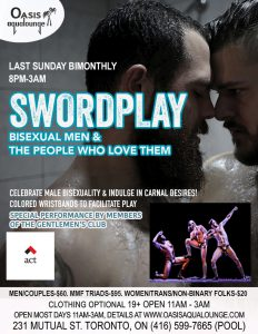Swordplay: For Bisexual Men & The People Who Love Them