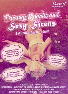 Dreamy Nymphs and Sexy Sirens