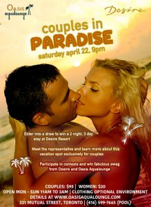 Couples in Paradise: Win A Trip To Desire Resort