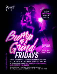 Bump N' Grind Fridays