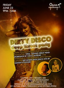 Dirty Disco Deep Throat Party