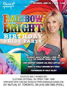 Rainbow Bright Birthday Pride