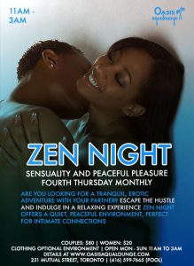 Zen Night: Sensuality & Peaceful Pleasure