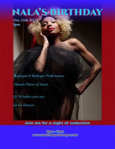 Nala's Night of Seduction: A Birthday Celebration