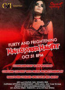 Flirty & Frightening; Halloween Haunt