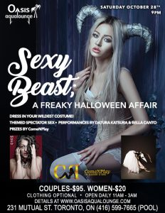 Sexy Beast; Pre-Halloween Party