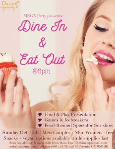MEGA Party: Dine In & Eat Out