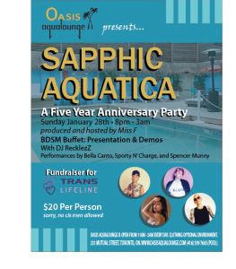Sapphic Aquatica: Five Year Anniversary Party for Women & Trans Folks
