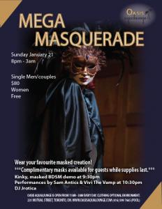 MEGA Masquerade Party